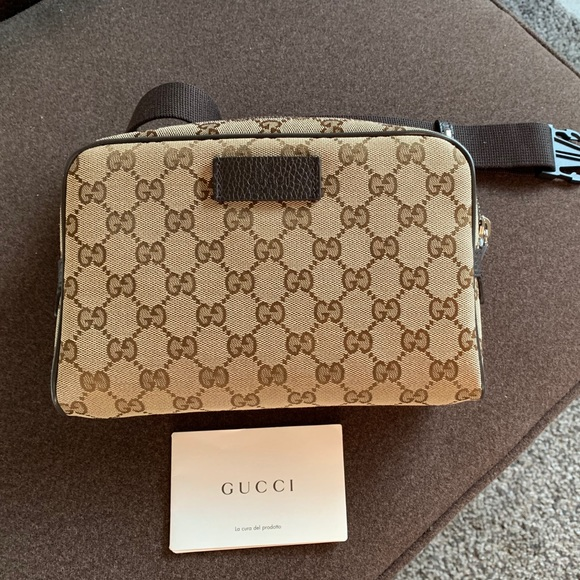 63ddd13f5b5603 Gucci Handbags - Gucci GG Guccissima canvas waist bag/ Fanny pack